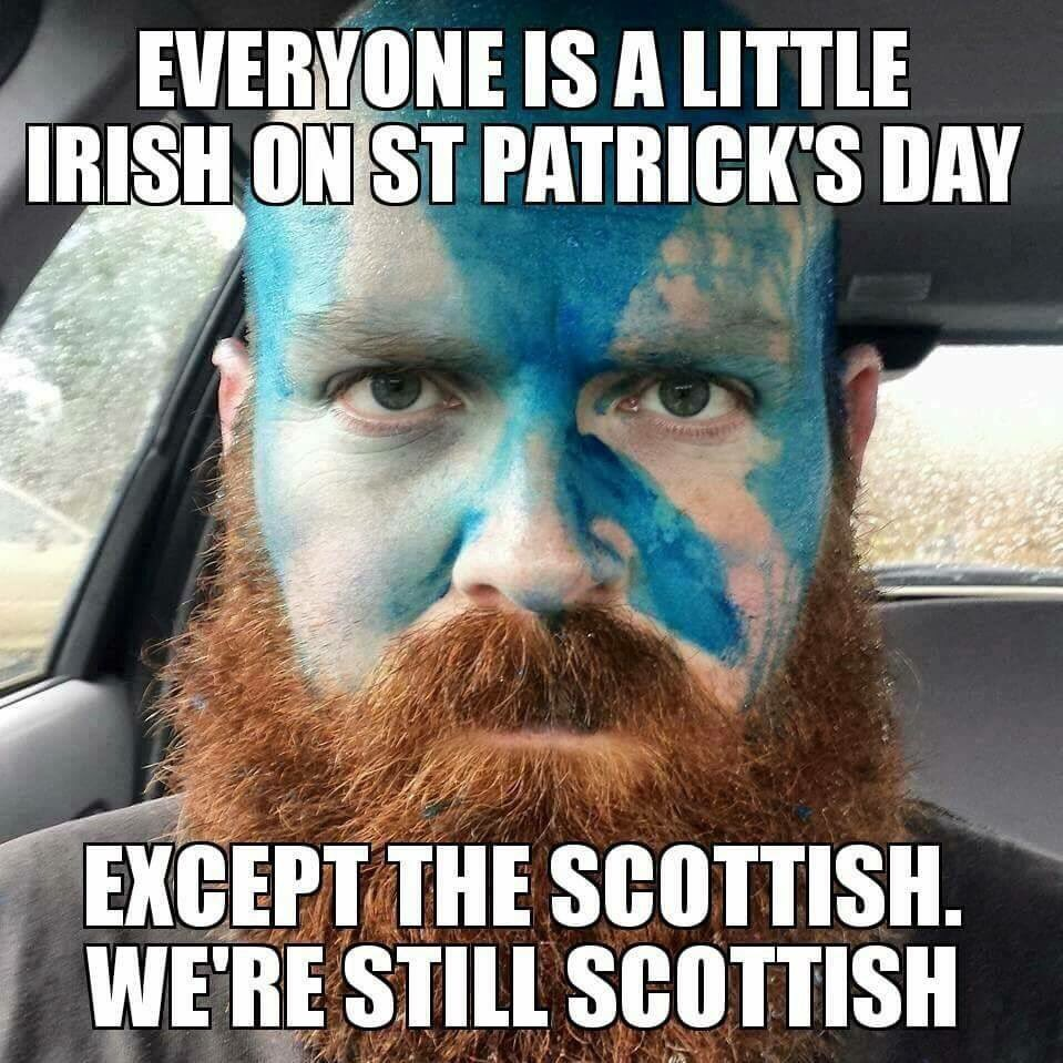 I'm a good wee bit Irish too so take a guess for today. #ENGvsIRE #StPatricksDay https://t.co/kHuWgIzaKn