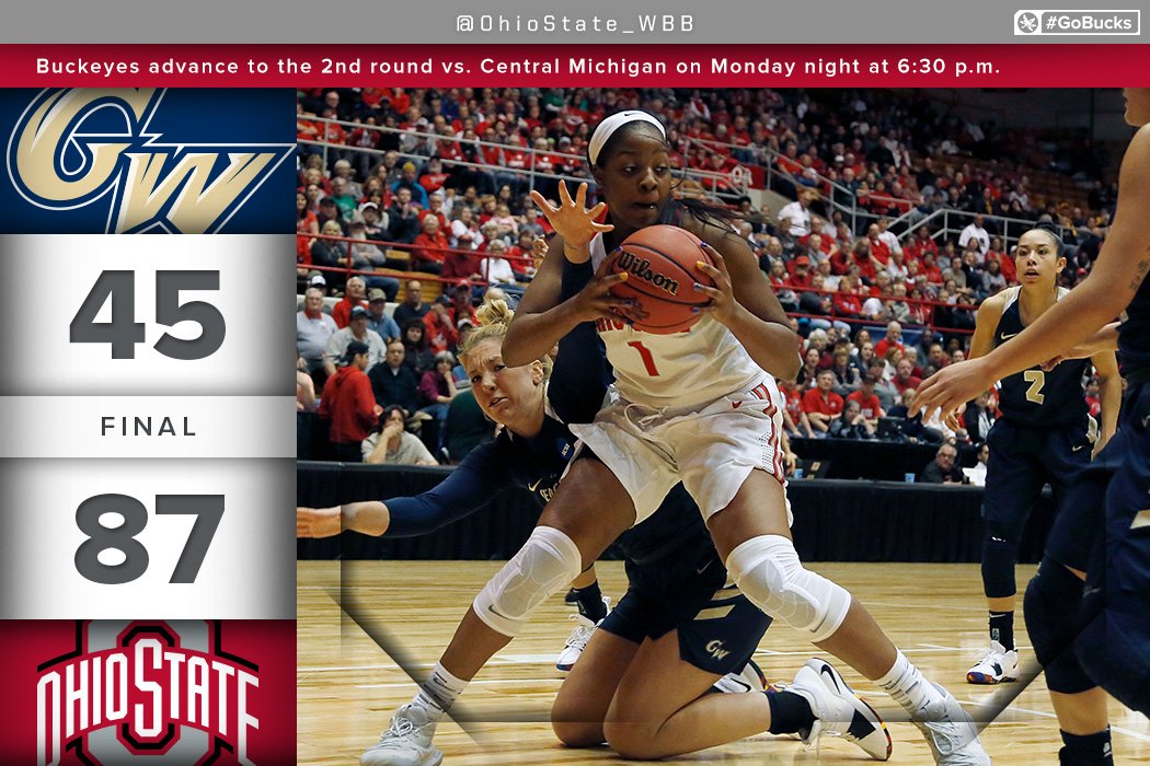 RT @OhioState_WBB: Win and advance. #GoBucks https://t.co/2bld4gQL8g