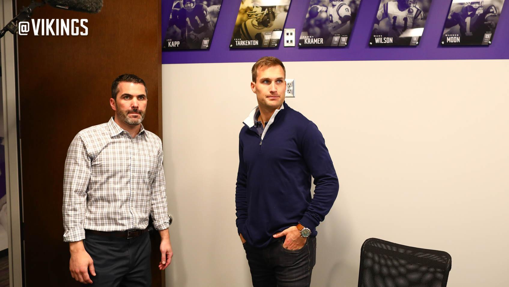 With free agency behind him, @KirkCousins8 is ready to get to work.  ��: https://t.co/2KpfQvYIG5 https://t.co/sR4xhJTtAQ