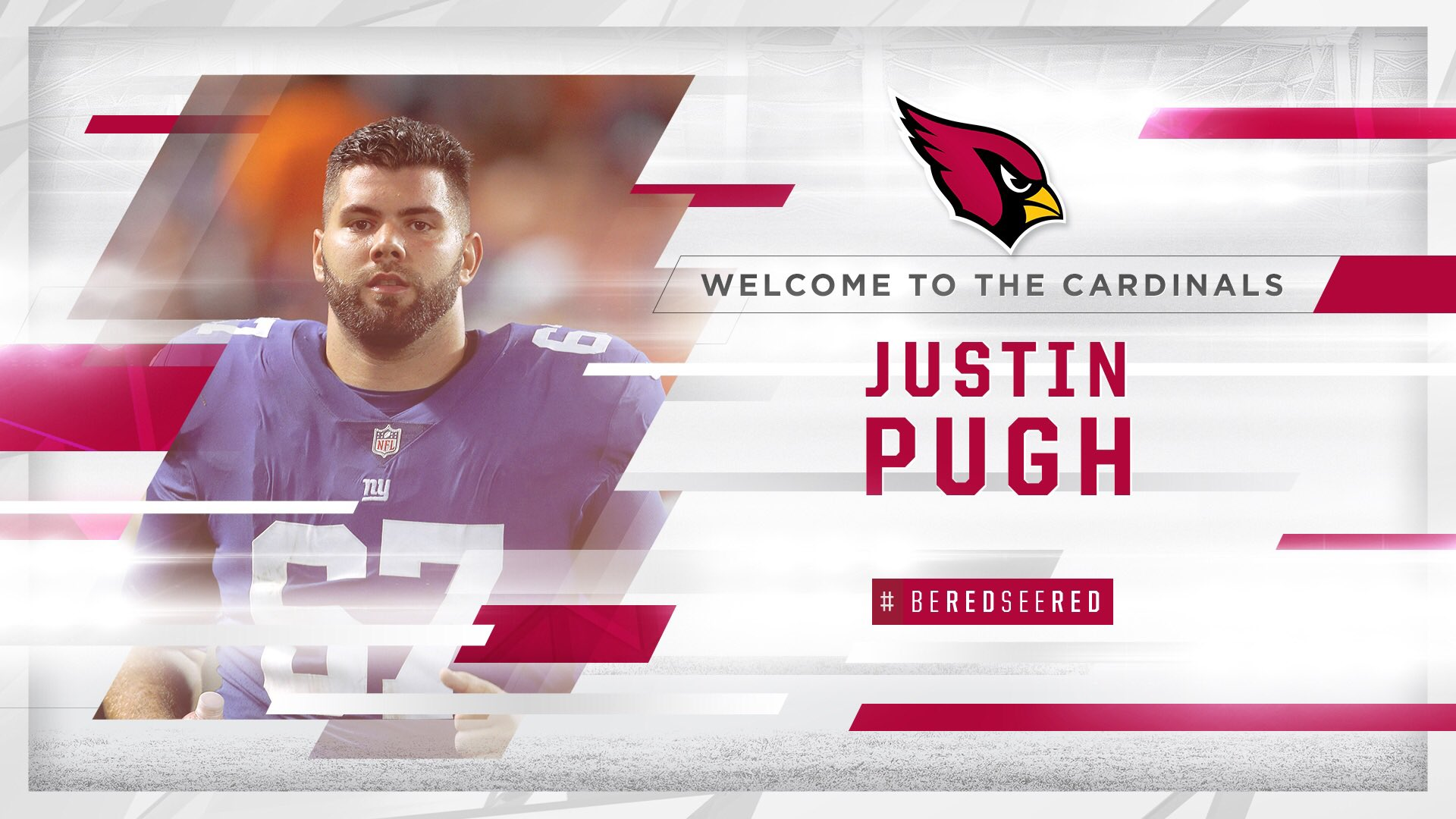 That is one BIG addition!  We have signed @JustinPugh!  MORE: https://t.co/BjfBJTgwSE https://t.co/Hn8Vf53C4O
