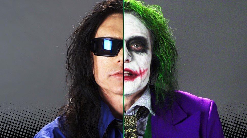 ICYMI, @TommyWiseau made a Joker audition tape: https://t.co/Etu9osD09v https://t.co/MRrM7koLoh