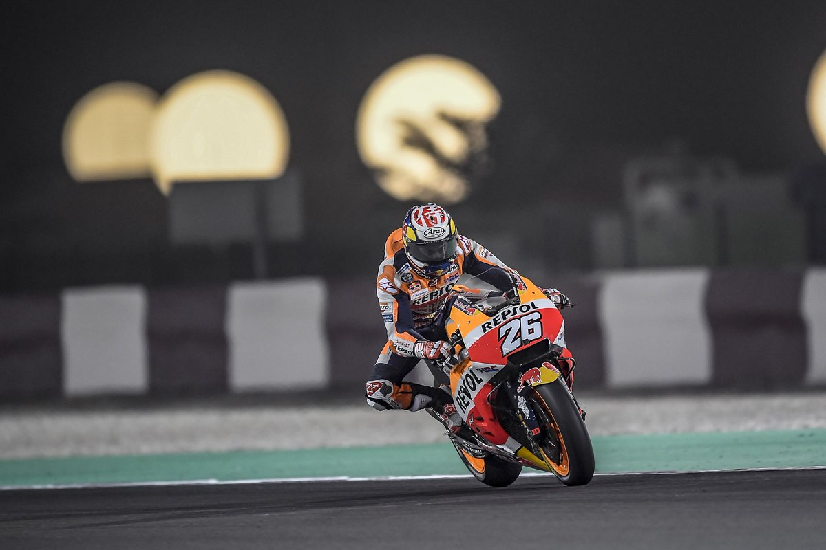 "test Twitter Media - ""We're of course not 100 percent satisfied with the result but we're not unhappy either..Seventh place in qualifying means that we have to start well, battle well in the lead group, and find our rhythm."" #DP26 P7 @MotoGP #QatarGP QP https://t.co/Vk9kFvyOn8"