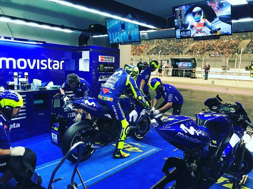 test Twitter Media - #MotoGP #QatarGP #Qualifiche  @ValeYellow46 8th 1'54.389 +0.709 ✊️🏻 https://t.co/N0IaAJijx2