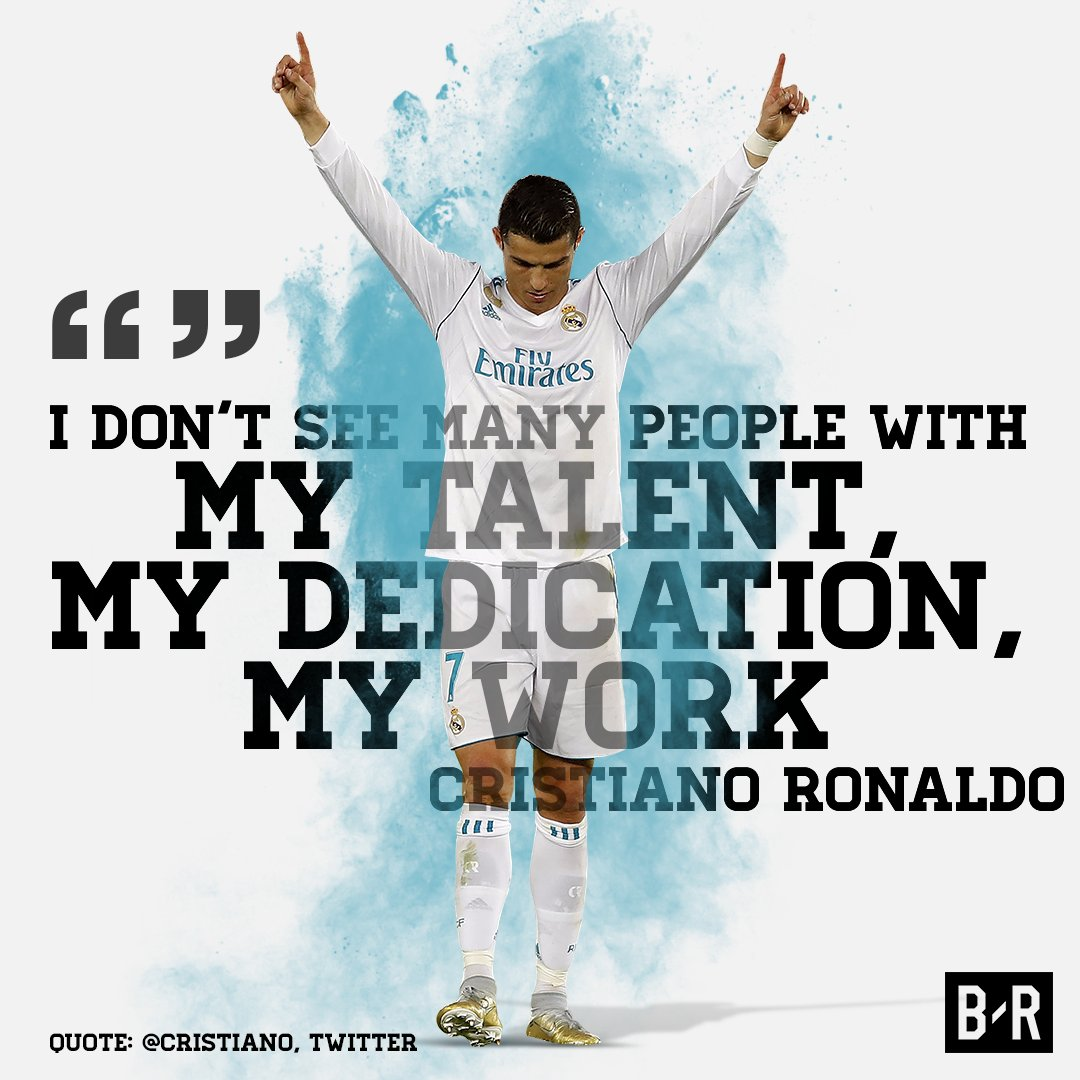Ronaldo's confident because he puts the work in �� https://t.co/kWQOvHehVZ