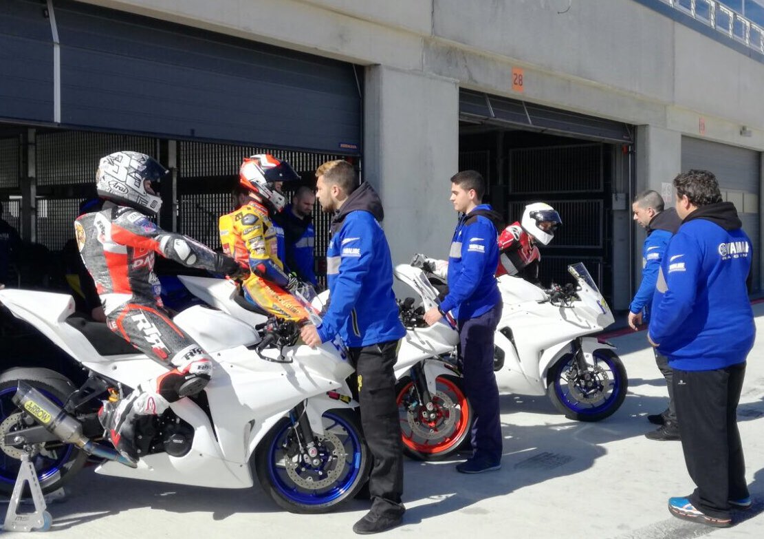 test Twitter Media - Getting ready for first European round💪🏻  #WorldSSP300 and European Supersport riders have been testing in @AragonMotorLand 🏍💨 https://t.co/PEE5rxd0Z5