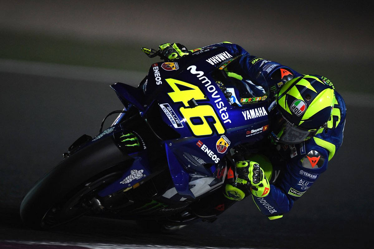 test Twitter Media - Tomorrow is D-Day. @ValeYellow46 and @maverickmack25 prepare for some dueling in the dark.  #MovistarYamaha | #MotoGP | #QatarGP https://t.co/l1AmIFVpjU