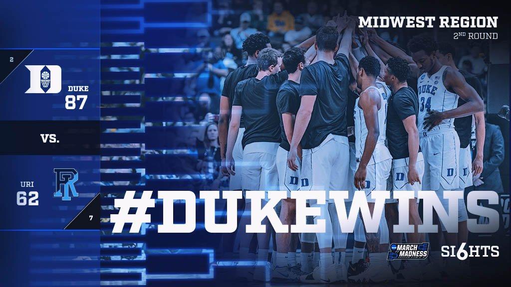 RT @DukeMBB: 2-0 ✅  #DukeWins https://t.co/mGSqLLmFc8
