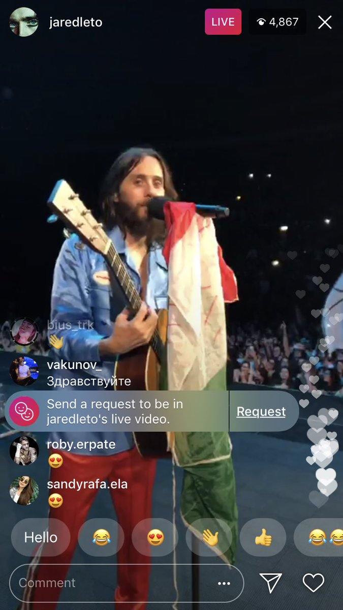 ???????? LIVE NOW FROM BOLOGNA https://t.co/XwW6Yn29N8  #MONOLITHTOUR https://t.co/ZkFfpanFiY