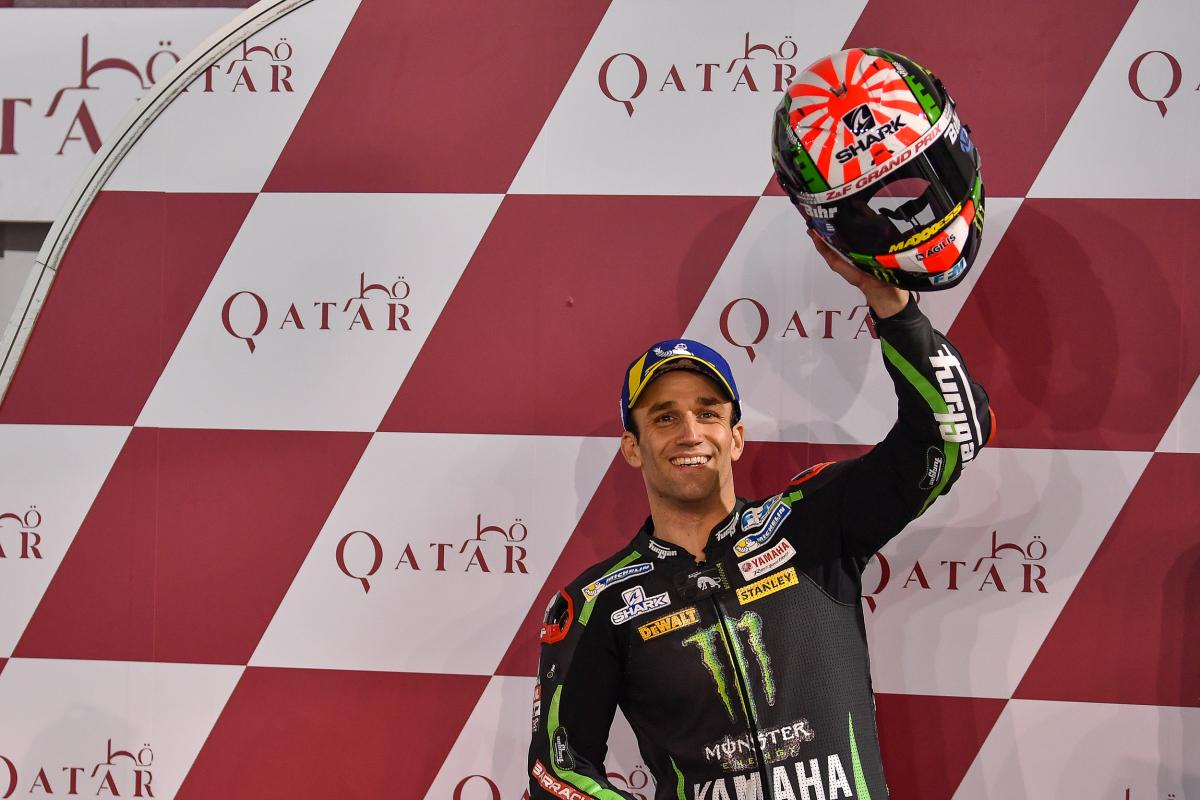 test Twitter Media - Zarco: From gravel trap to pole position at #QatarGP  Lap-record breaking Frenchman hopeful for a podium fight  #MotoGP | 📰 https://t.co/TfNOy7wf4b https://t.co/Svz8qswaD6