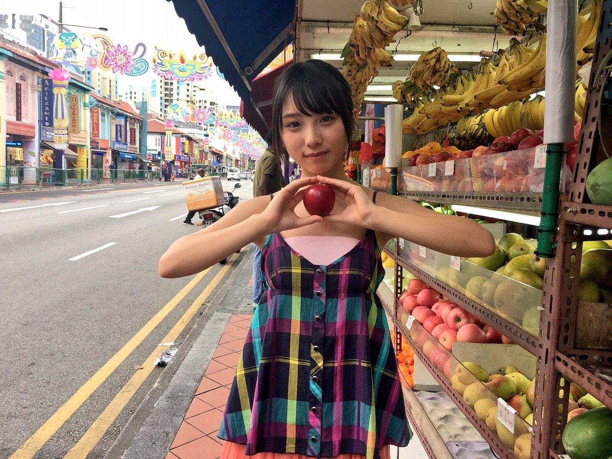 彼女とシンガポールでお買い物なうに使っていいよ♡  #与田祐希 #与田ちゃん #日向の温度 #シンガポール ...