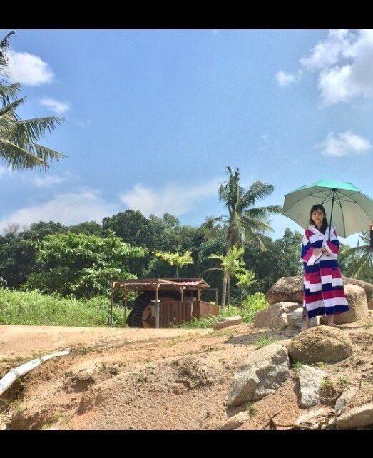 晴れ女です。  #与田祐希 #与田ちゃん #日向の温度 #シンガポール  #ビンタン島 #振り返り https://t.co...