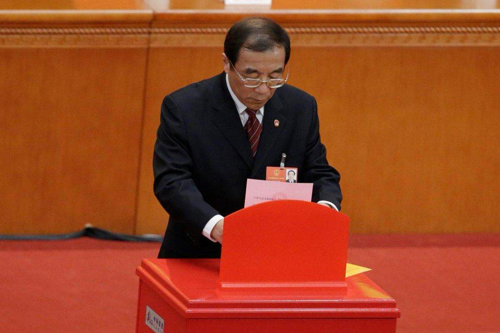 Senior graft-buster appointed head of China's new anti-corruption body https://t.co/BgyxHlRC9a https://t.co/Xlq5MTgnPU
