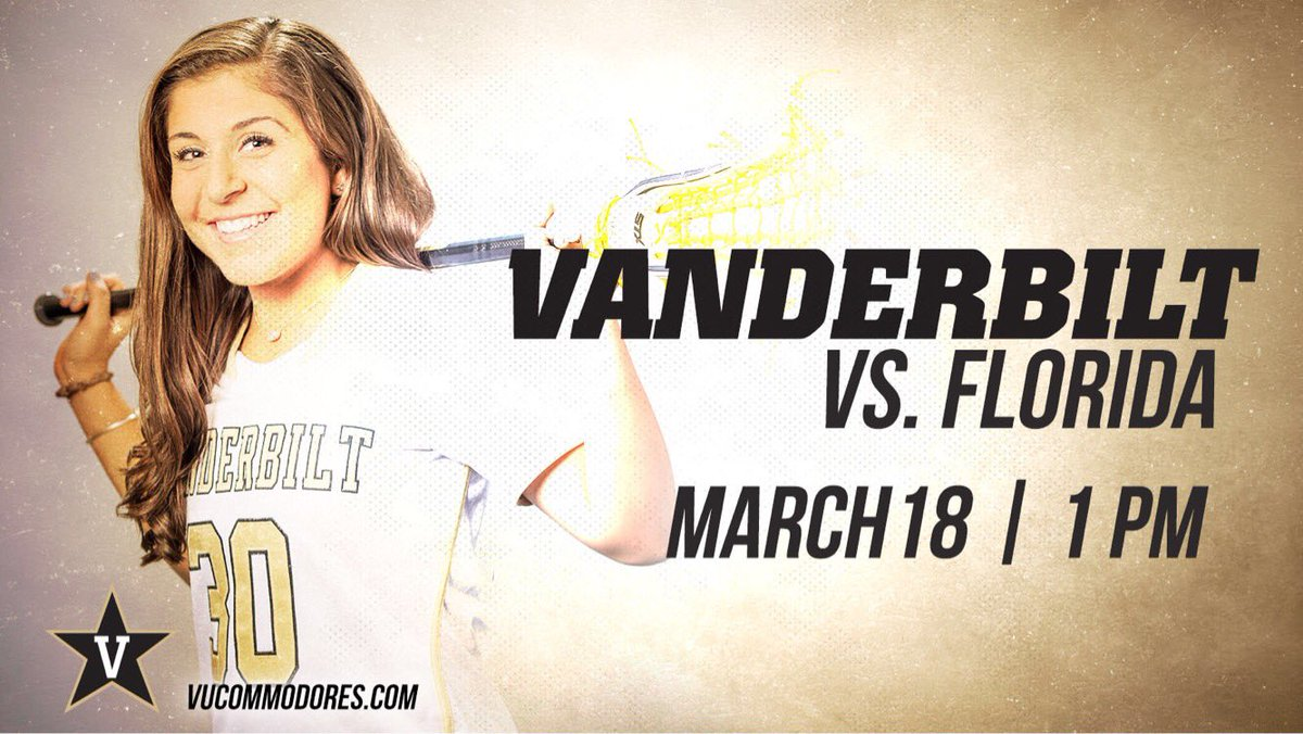 RT @VanderbiltLax: It's a Big East GAMEDAY!!  See you all at 1 pm at the VU Lacrosse Complex, first 250 fans get a free t-shirt! https://t.…