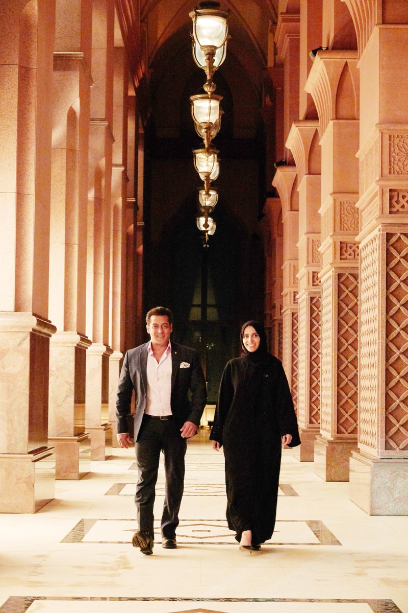 test Twitter Media - Bollywood superstar, @BeingSalmanKhan, is back in Abu Dhabi filming #Race3, with the support of twofour54. Read the full article: https://t.co/laHxBUVBM0 https://t.co/9j8qvsoIp4