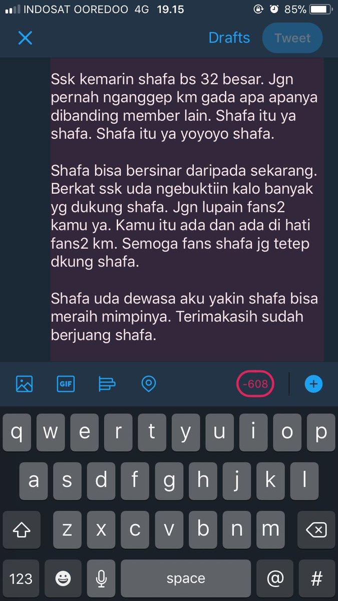 #FarewellShafa