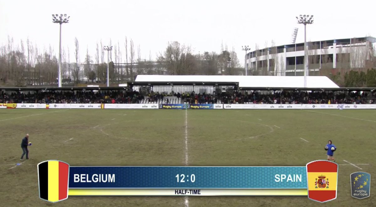 test Twitter Media - At half-time it's @BelgianRugby leading @ferugby 12-0 Can Spain make a comeback and secure their spot at #RWC2019?   Follow the second half at https://t.co/4HIoimpbiM https://t.co/x15efNLP3p
