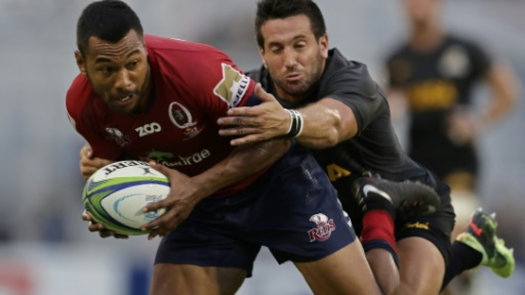 Reds' defence digs deep against Jaguares for third win