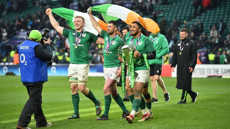 test Twitter Media - Six Nations Grand Slam winners Ireland have been forced to cancel their homecoming party in Dublin due to bad weather: https://t.co/sr5od36QUF https://t.co/7JAlNBcrLf