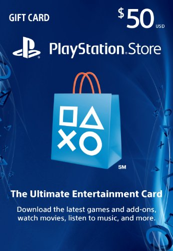 US #Games No.7 $50 PlayStation Store Gift Card - PS3/ PS4/ PS Vit... https://t.co/0tPqq0Bt2f https://t.co/RQ9F2OvVJ6