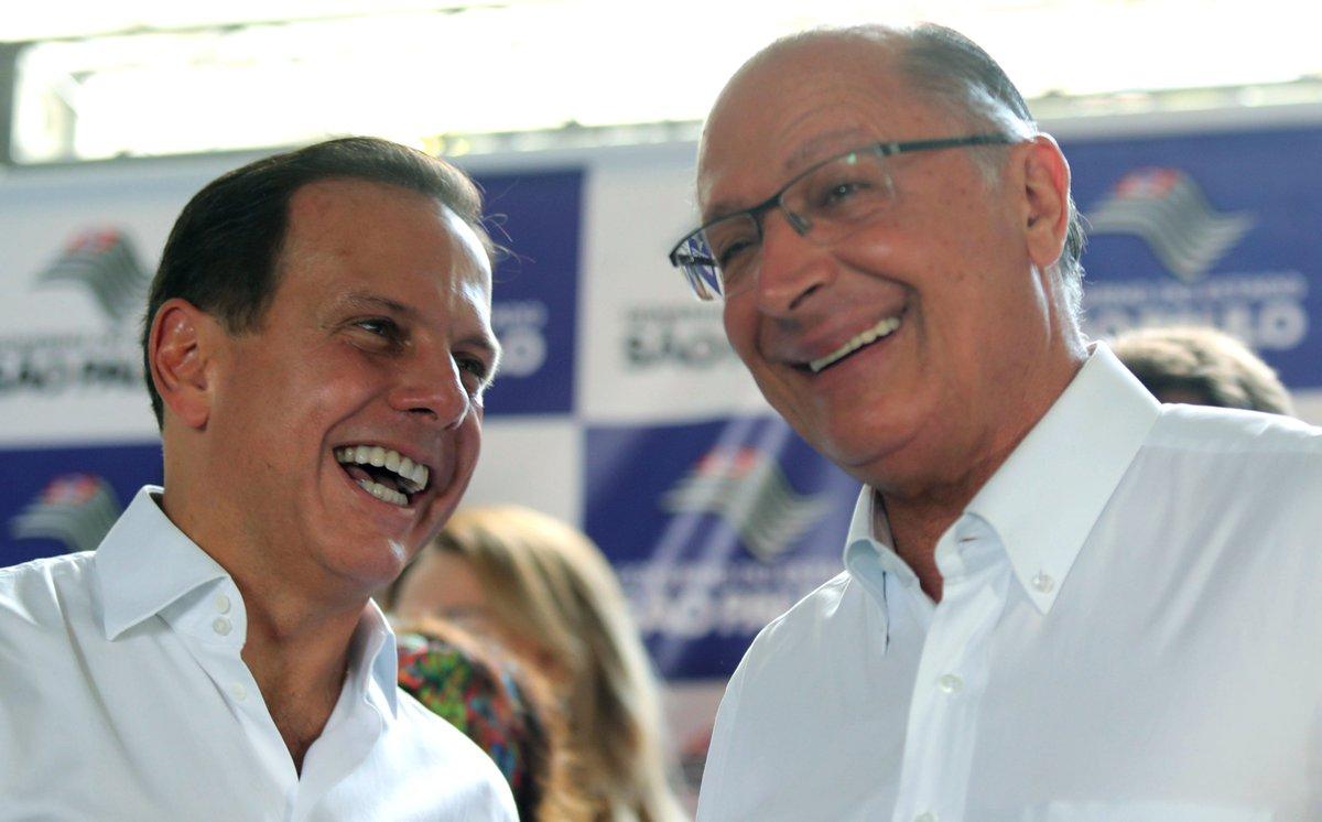 @BroadcastImagem: Em dia de prévias do PSDB, Alckmin participa de agenda conjunta com Doria, na zona norte de SP. Alex Silva/Estadão