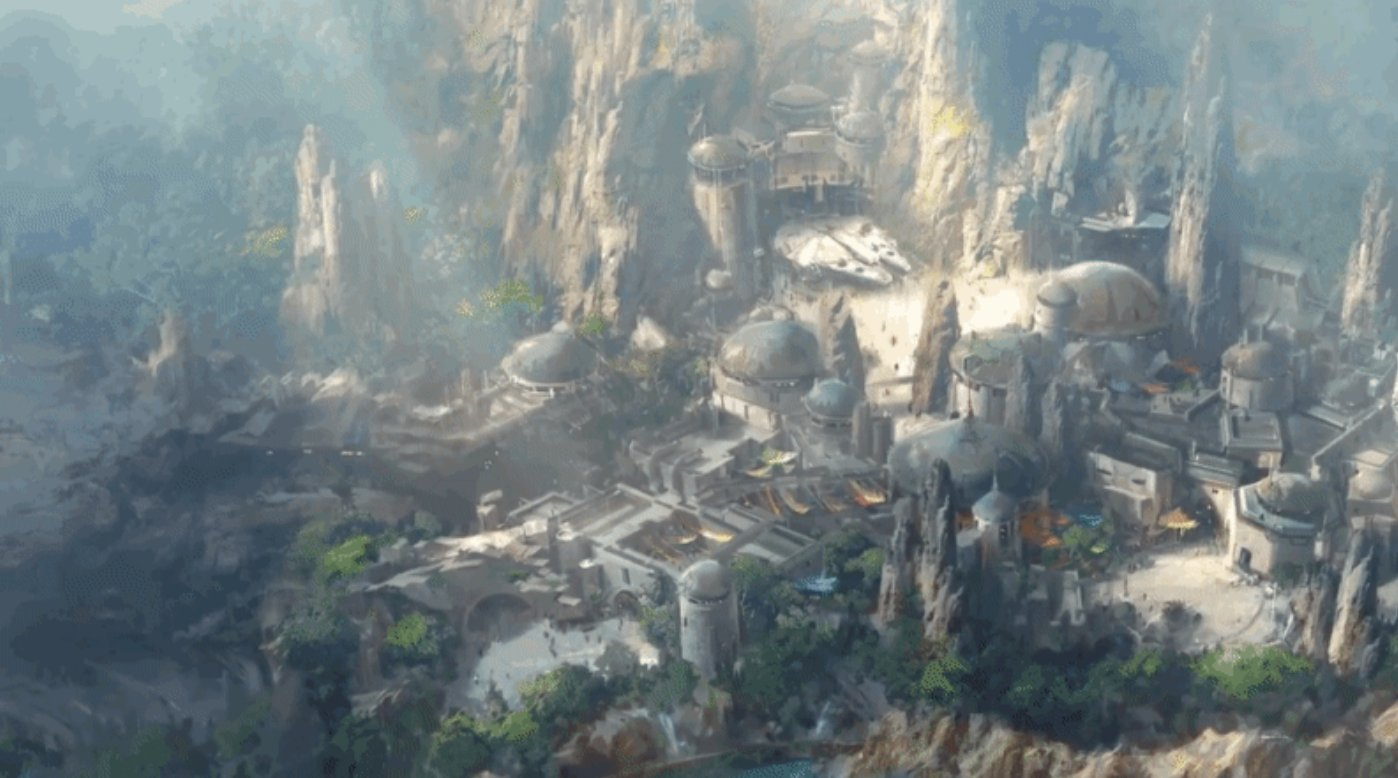 Take a peek at the progress made on Star Wars: Galaxy's Edge at Disneyland. https://t.co/I9FZhyk75o https://t.co/gd630U6J1o