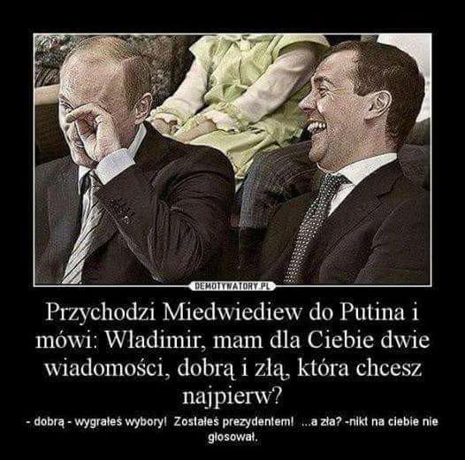 #RosjaWybiera