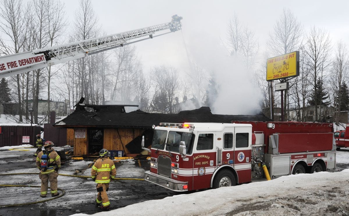 South Anchorage restaurant destroyed by fire