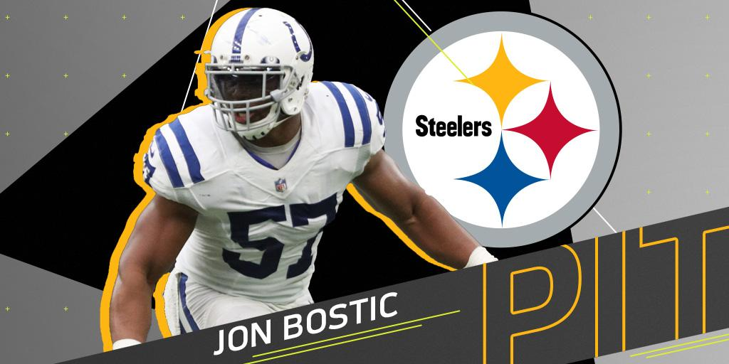 .@steelers sign free agent LB @JonBostic: https://t.co/Tt2ZsVvPRt https://t.co/ZXVMVYYLzt