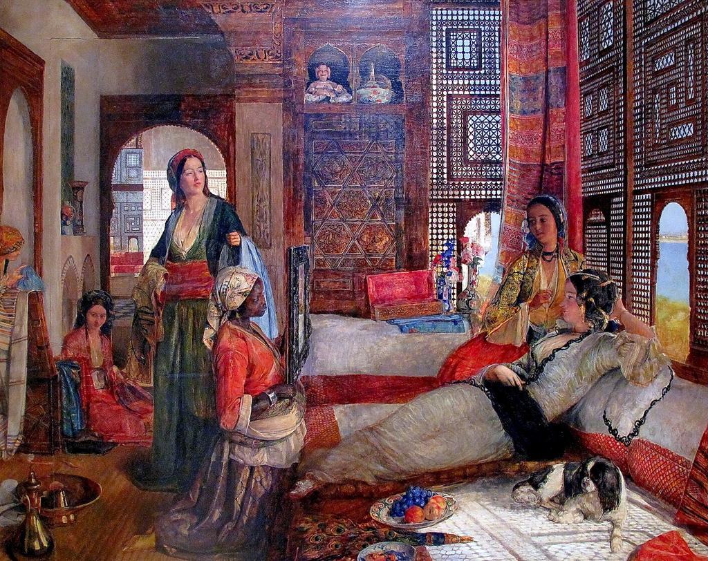 RT @Ash_Baraka: Cairo 1851 The Harem. 🎨 John Frederick Lewis #MASRZAMAN https://t.co/DyN5NDpGZp