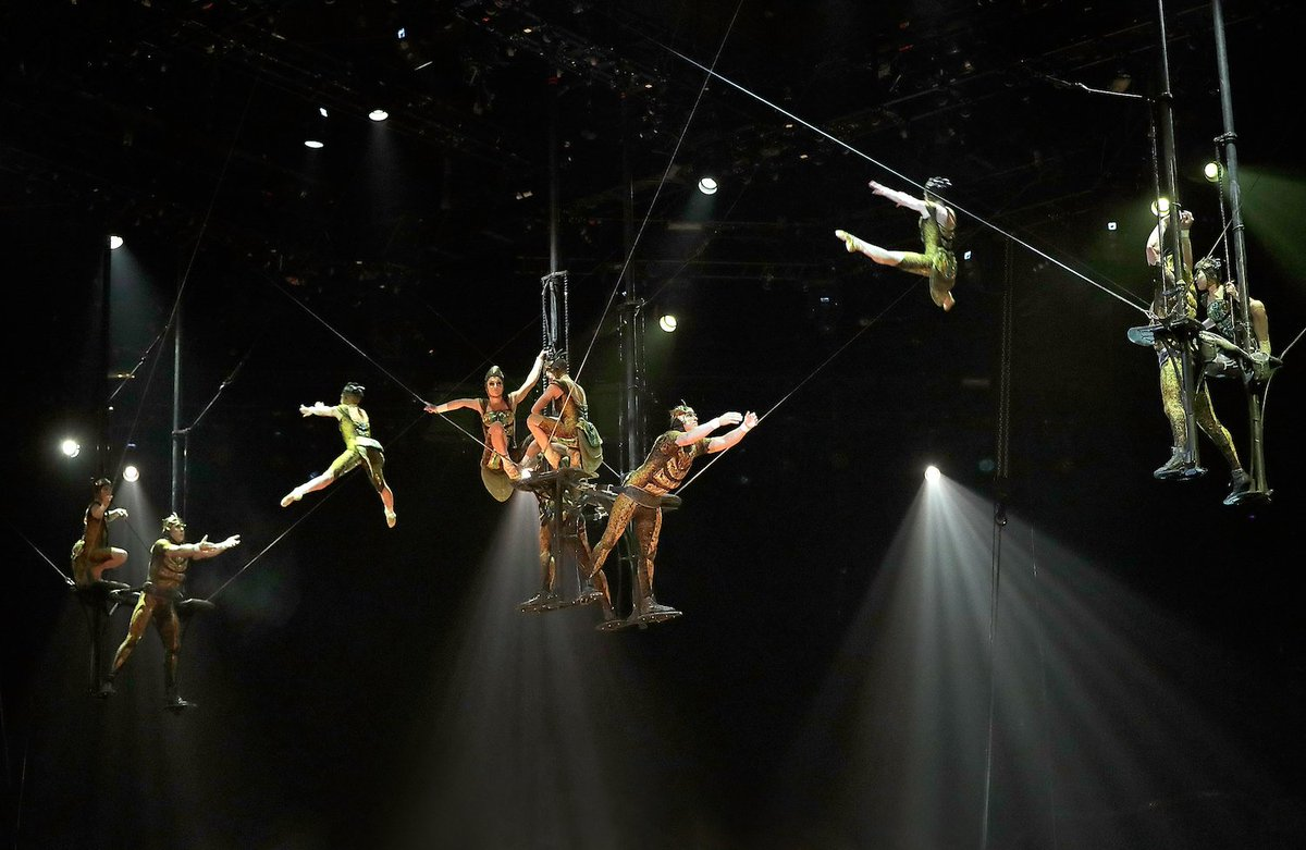 A Cirque du Soleil performer died after an accident during a performance