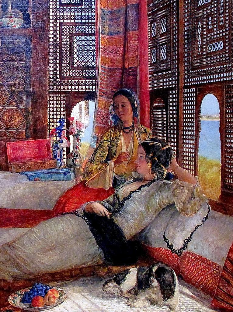 RT @Ash_Baraka: Details: The Harem. 🎨 John Frederick Lewis (English ,1809-1876) #MASRZAMAN https://t.co/6Ho45UyQ6h