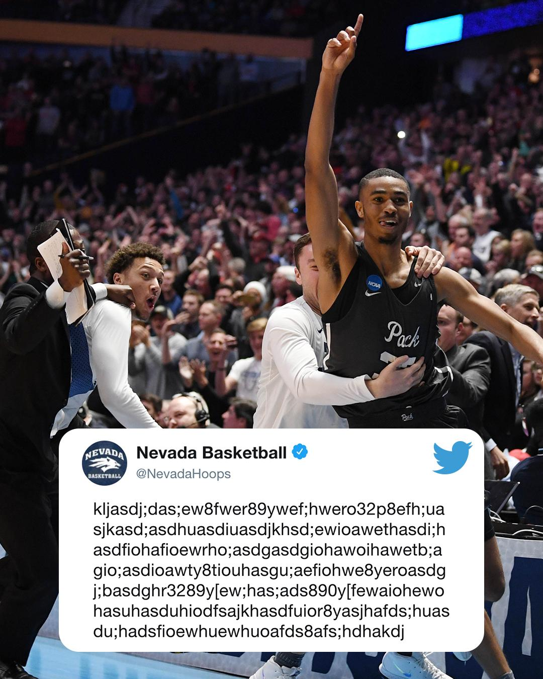 Translation: Nevada rallied from 22 down to make just its 2nd Sweet 16 ever. https://t.co/jFLT5ZrvG6