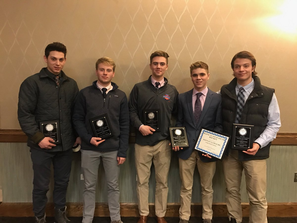 test Twitter Media - RT @yorkboyshockey: More congratulations go out to our @YHSWildcats at the Maine Class B South Banquet https://t.co/S5bKiqumIN