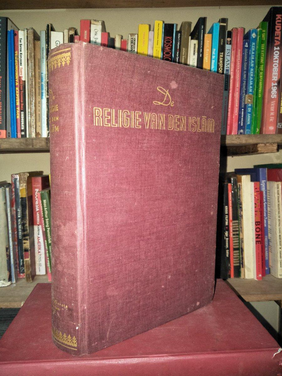 Buku Langka> Religie Van Den Islam. Maulana Muhammaf Ali. Tahun 1955. 582 hlm. Hardcover. Minat? https://t.co/sLj7l078lI