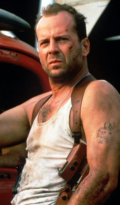 Happy 65th Birthday To Bruce Willis - Die Hard and more.