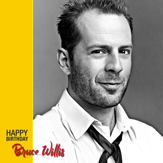 Wishing Bruce Willis a.k.a. John McClane a very happy birthday!