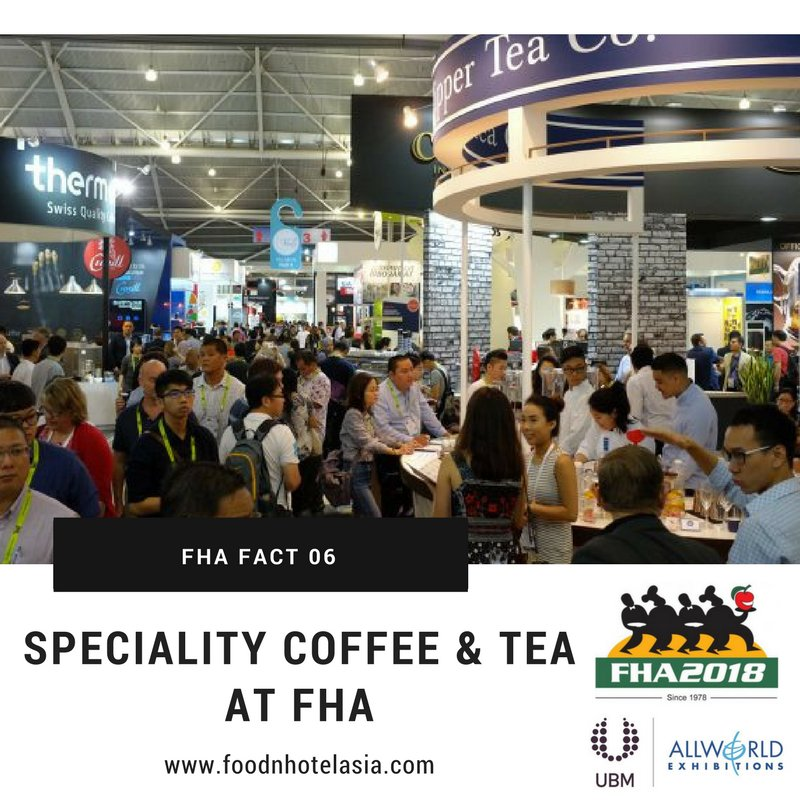 test Twitter Media - FHA fact 6: Speciality Coffee & Tea covers all aspects of the sector –products, equipment and even features barista competitions to provide an all-encompassing experience for attendees https://t.co/MFaH7cE2qT  #FHA2018 #Export #Asia #tradeshow #FHAFunFacts #WednesdayWisdom https://t.co/sS4RYzdo9b