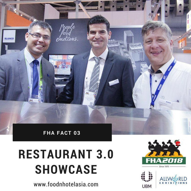 test Twitter Media - FHA fact 3: Experience and brainstorm what future restaurant concepts could be at the RESTAURANT 3.0 showcase at Suntec Singapore https://t.co/amzTRIAo9T  #FHA2018 #Export #Asia #tradeshow #FHAFunFacts #SaturdayMorning https://t.co/bE0wrJByRS