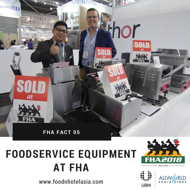 test Twitter Media - FHA fact 5: Foodservice Equipment at Suntec Singapore is the ultimate showcase of foodservice and hospitality equipment, machines and supplies by international exhibitors  https://t.co/dfcqOGzn5p  #FHA2018 #Export #Asia #tradeshow #FHAFunFacts #ThursdayThoughts https://t.co/dmsPTLp9wx