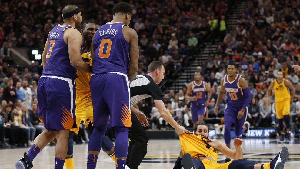 NBA: Dudley y Chriss, multados por su incidente con Ricky Rubio https://t.co/bYzuNdWpcn https://t.co/1dQRJwlvGH