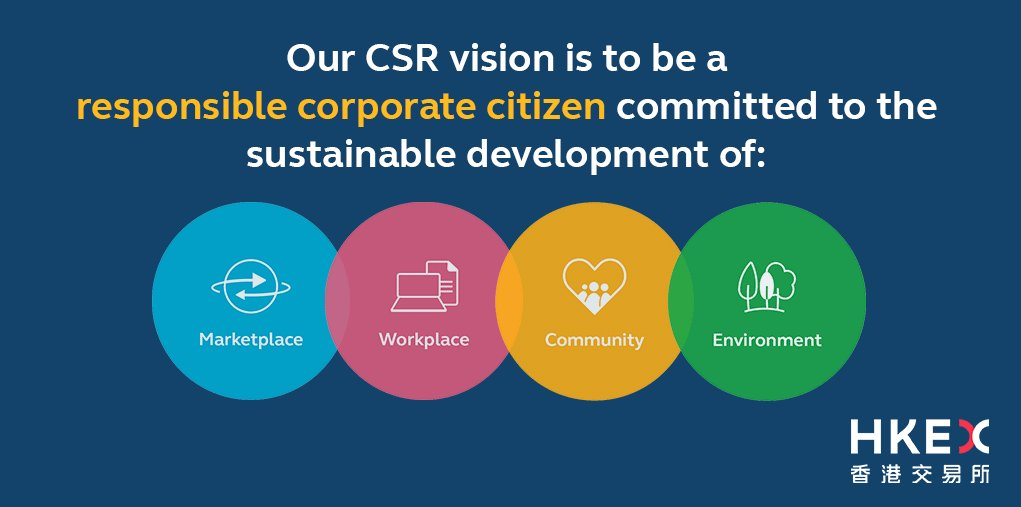 HKEX's 2017 #CSR report is out! See how we're working to support our four cornerstones. https://t.co/mdnyo97Xw6 https://t.co/08xlJ4XAqj