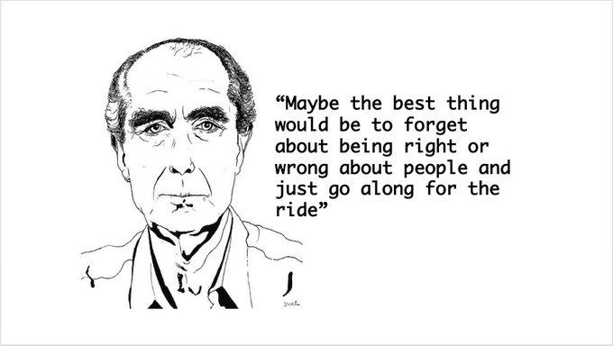 Happy 85th birthday to Philip Roth!
