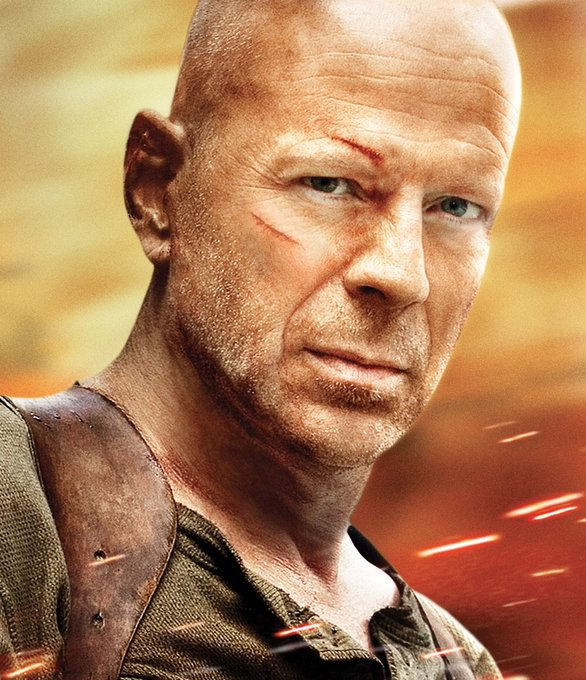 Happy birthday Bruce Willis, you magnificent miserable bastard!