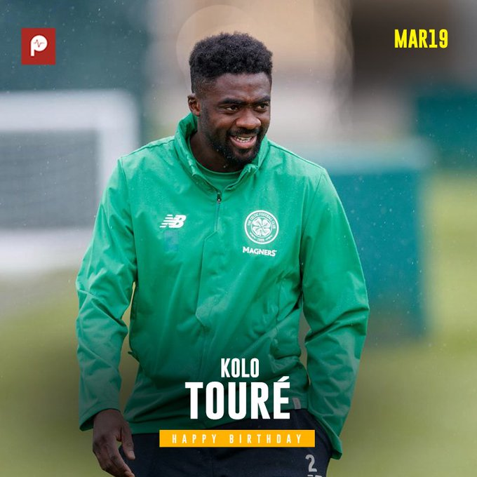 Happy Birthday to former Liverpool and Celtic defender, and current Celtic coach Kolo Toure.