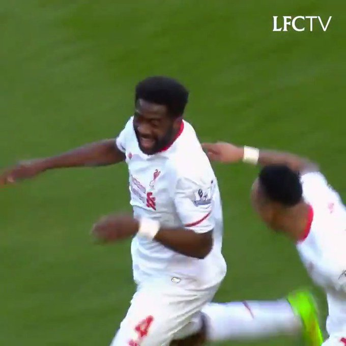 Who could forget that goal and celebration. Happy birthday, Kolo Toure!