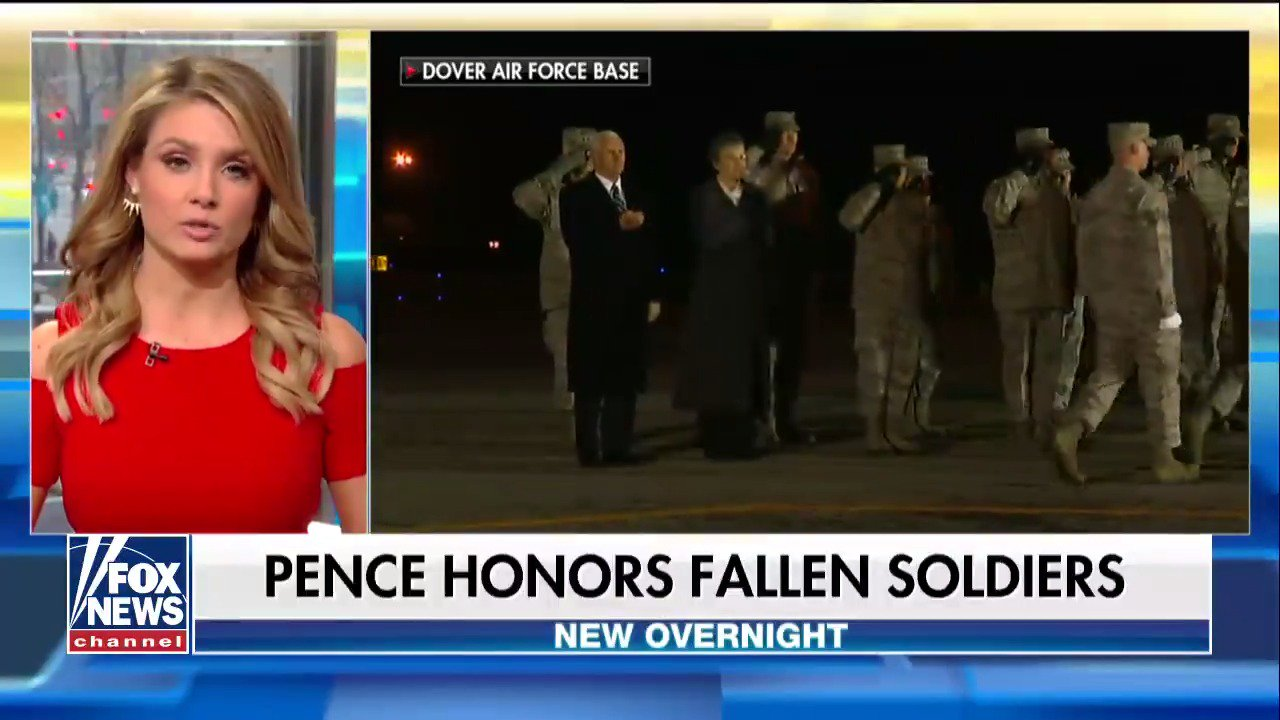 .@VP Mike Pence honors fallen soldiers @foxandfriends https://t.co/sIZgeU3WdR