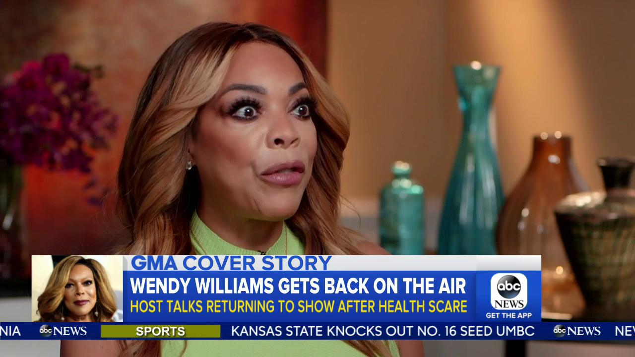 Daytime host @WendyWilliams talks with @arobach on returning to her show, and has a message for women everywhere... https://t.co/OYmU1akyzB