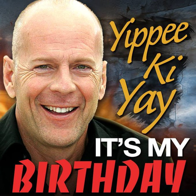 HAPPY BIRTHDAY, BRUCE WILLIS! The actor turns 63 today.