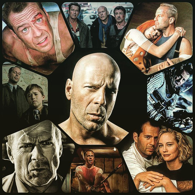 Happy 63rd Birthday to action superstar Bruce Willis