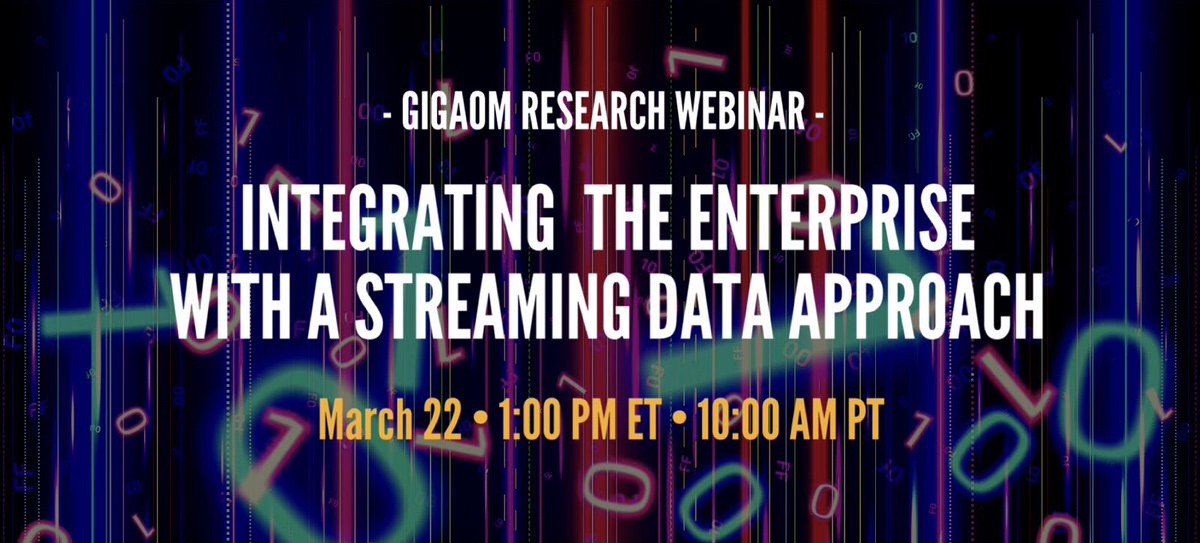test Twitter Media - Join our experts for a free webinar 3/22 sharing strategies for integrating the enterprise with #realtimedata through #streaming data, messaging, and queuing. Plus new OpenMessaging benchmark! REGISTER: https://t.co/CVI5J3FL7U #sponsor @Streamlio #dataanalytics #bigdata https://t.co/OnrTQcG3Xu